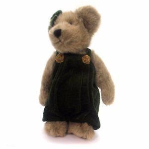 BOyds teddy bear LILLIAN K BEARSLEY  w tag dress